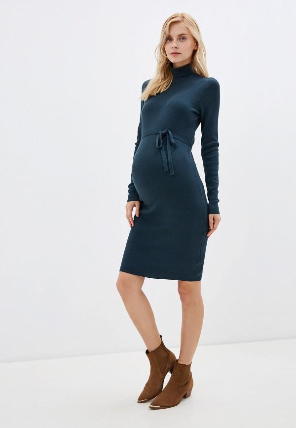 Mama Licious | бирюзовый Бирюзовое платье Mama Licious | Clouty