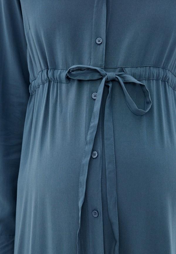 Mama Licious   синий Платье Mamalicious   Clouty
