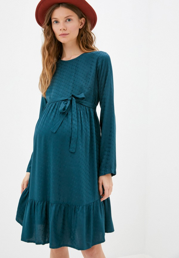 Mama Licious | синий Платье Mamalicious | Clouty