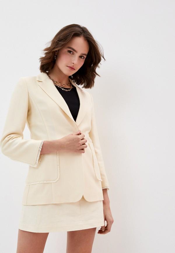 Max & Co. | Женский бежевый пиджак Max & Co. | Clouty