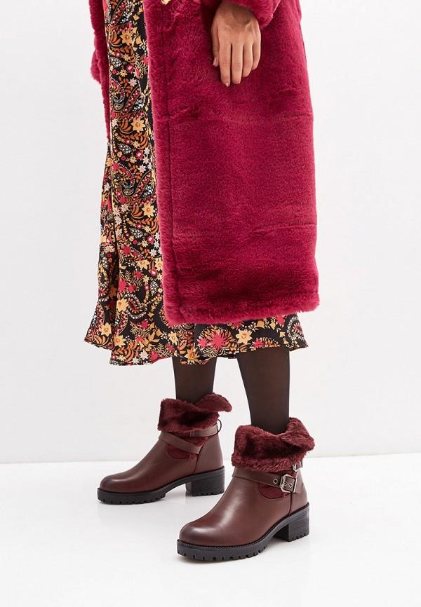 Marquiiz | бордовый Полусапоги Marquiiz | Clouty