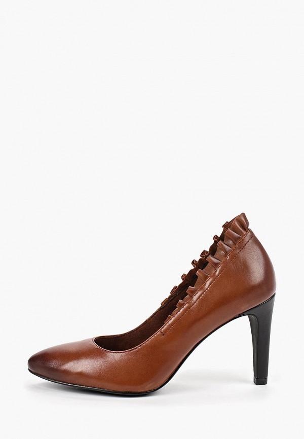 Marcel Ostertag by Tamaris | коричневый Женские коричневые туфли Marcel Ostertag by Tamaris искусственный материал | Clouty