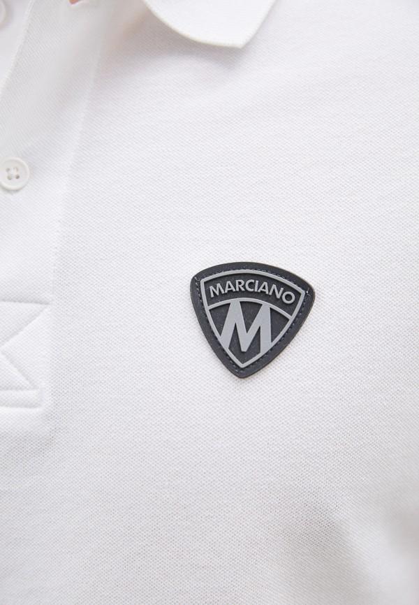 Marciano | белый Мужское белое поло Marciano | Clouty