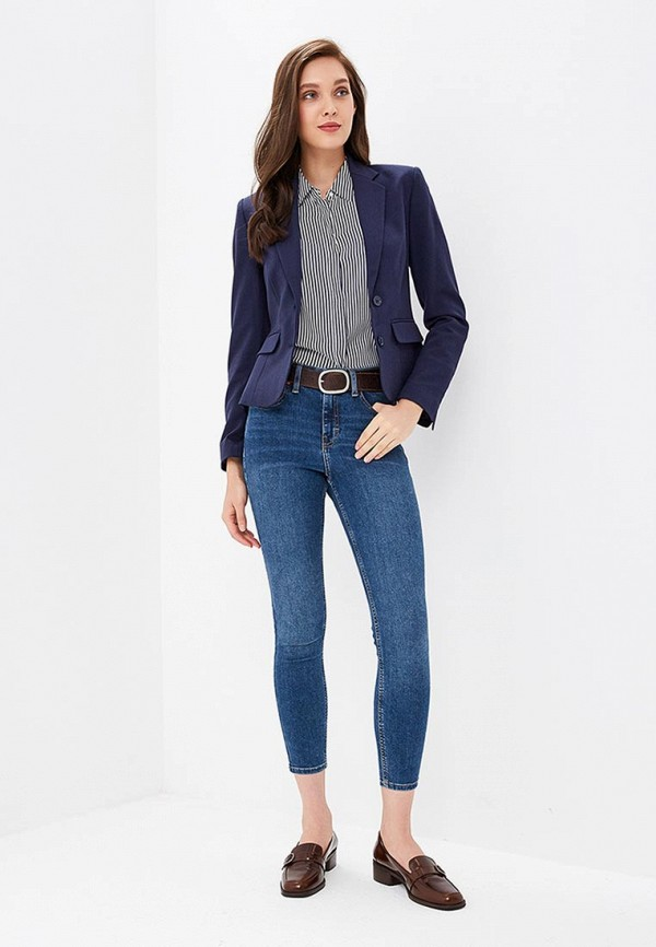 Marks & Spencer | Женский синий пиджак Marks & Spencer | Clouty