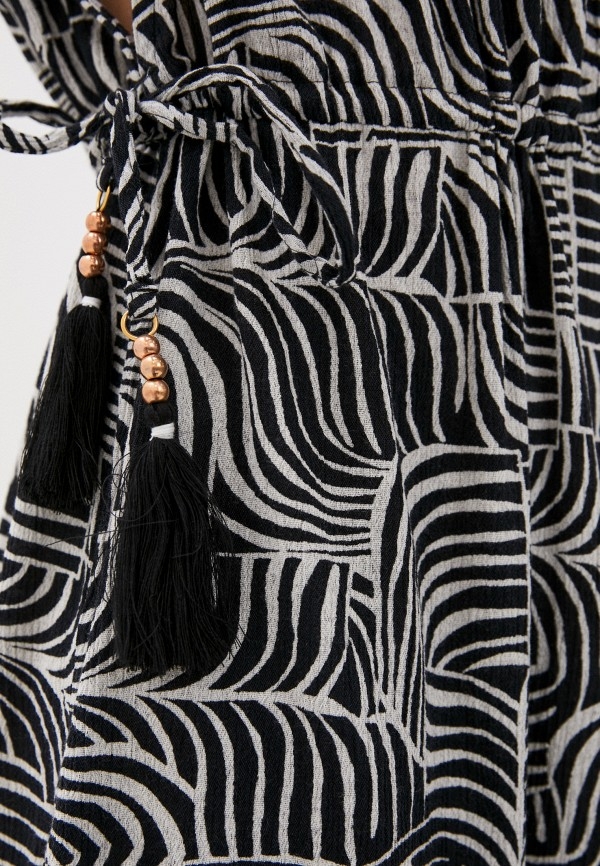 Marks & Spencer | черный Летнее черное пляжное платье Marks & Spencer | Clouty