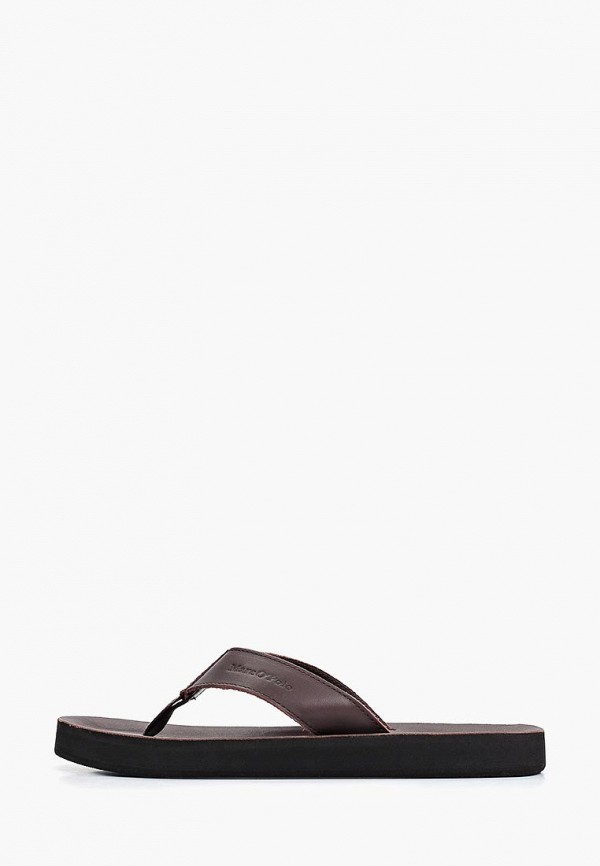 Marc O'Polo | коричневый Мужские летние коричневые сандалии Marc O'Polo искусственный материал | Clouty