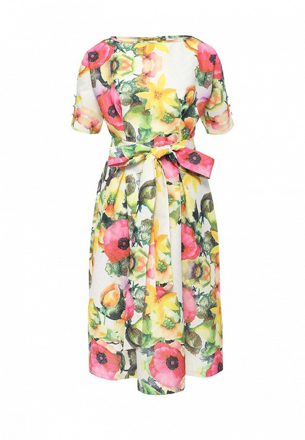 Мадам Т | мультиколор Женское летнее платье Мадам Т | Clouty