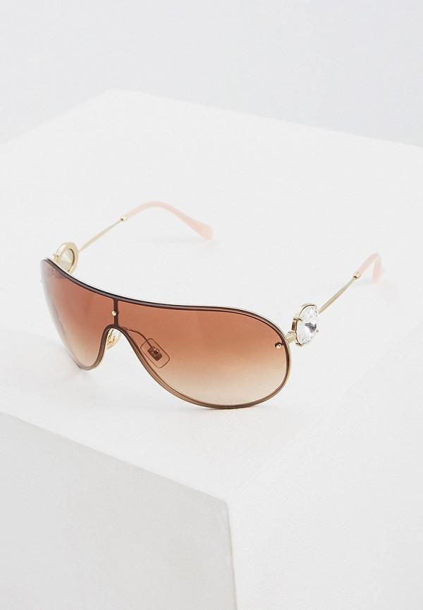 MIU MIU   золотой Женские летние золотые солнцезащитные очки MIU MIU   Clouty