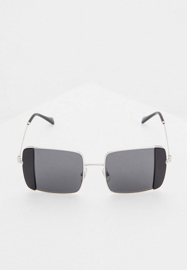 MIU MIU | серебряный Очки солнцезащитные Miu | Clouty