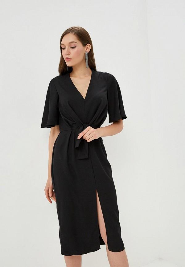 Miss Selfridge | черный Женское черное платье Miss Selfridge | Clouty