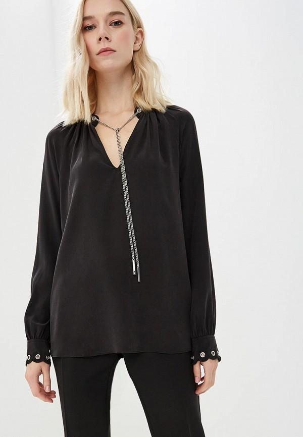 Michael Michael Kors | черный Женская черная блуза Michael Michael Kors | Clouty