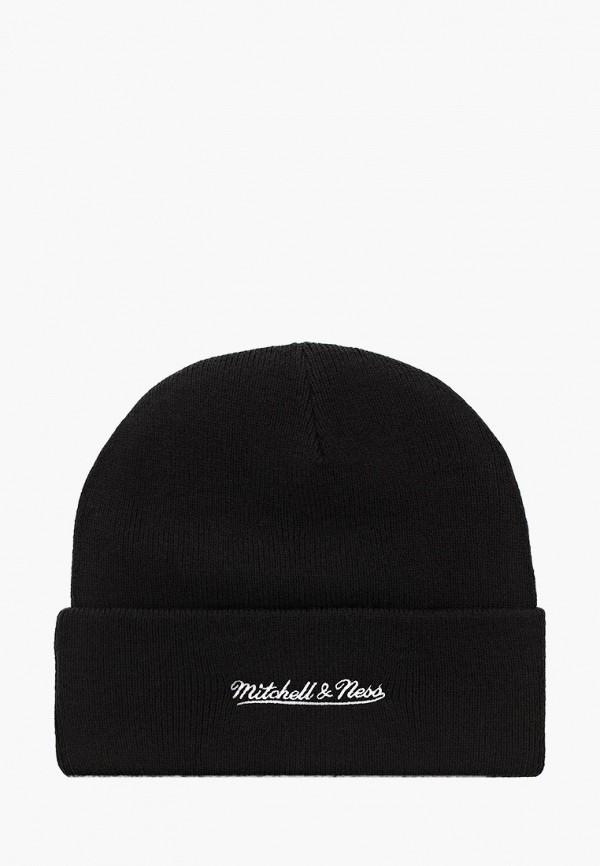 Mitchell & Ness   черный Черная шапка Mitchell & Ness   Clouty