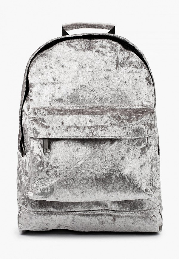 Mi Pac | Женский серый рюкзак Mi Pac | Clouty