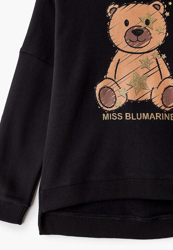Blukids | черный Худи Miss Blumarine | Clouty