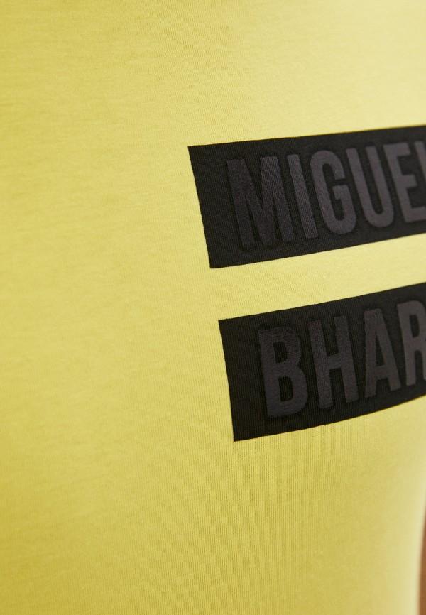 Miguel Bharross | желтый Мужская желтая футболка Miguel Bharross | Clouty
