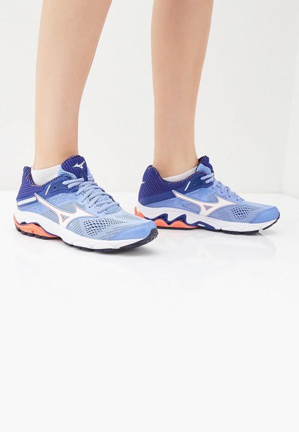 Mizuno | синий Женские синие кроссовки Mizuno резина | Clouty