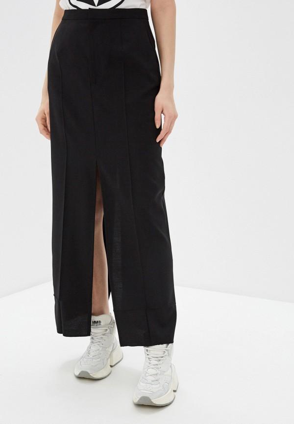 MM6 Maison Margiela | черный Черная юбка MM6 Maison Margiela | Clouty