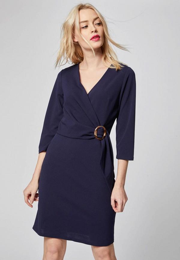 Morgan | синий Женское синее платье Morgan | Clouty