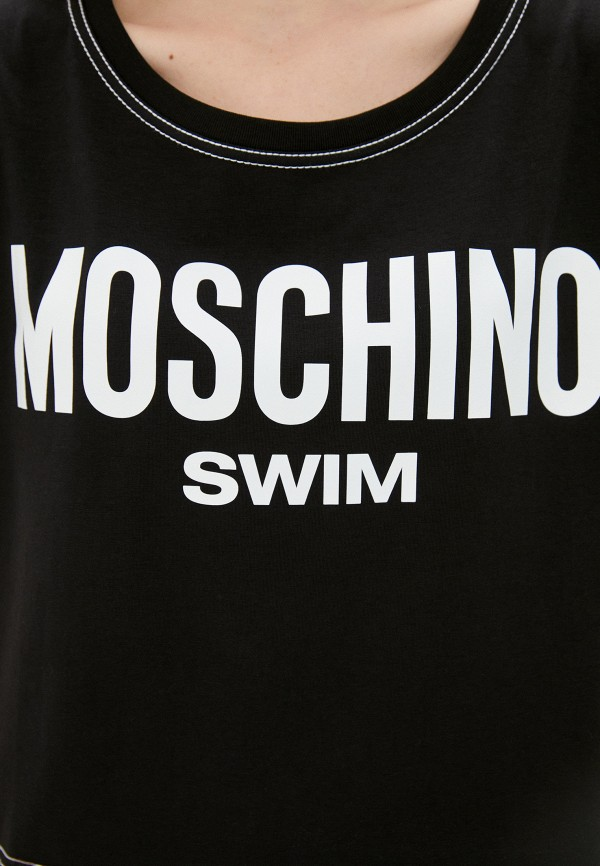 MOSCHINO | черный Футболка Moschino Swim | Clouty