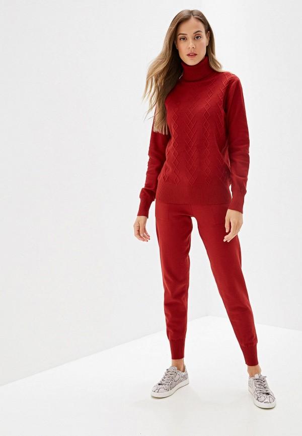 Moki | Женский бордовый костюм Moki | Clouty
