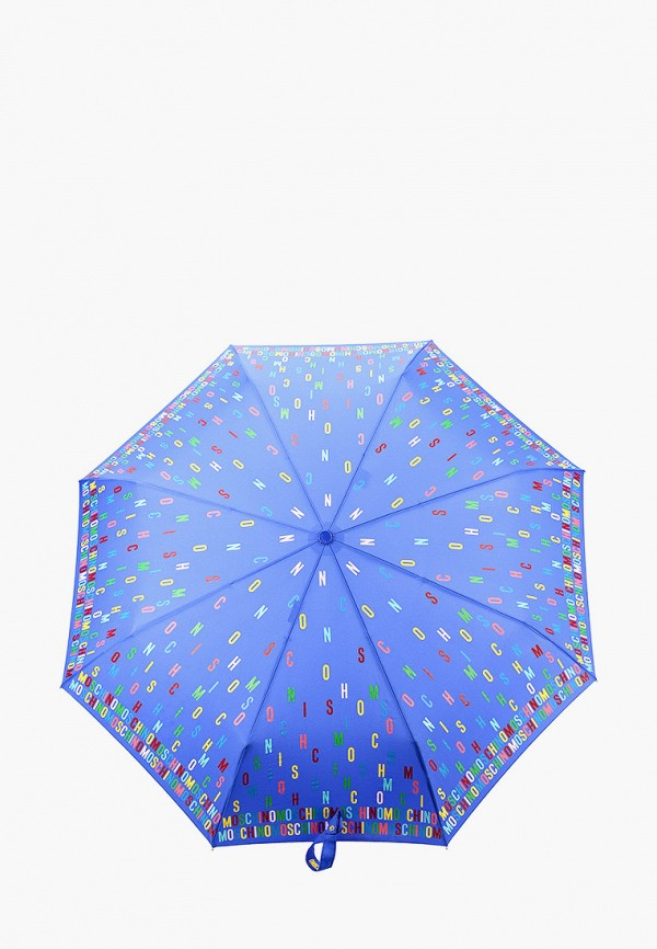 MOSCHINO | синий Зонт складной Moschino | Clouty