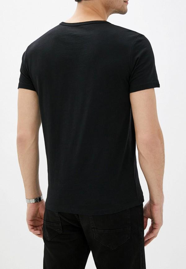 Colin'S | черный Мужская черная футболка Colin'S | Clouty