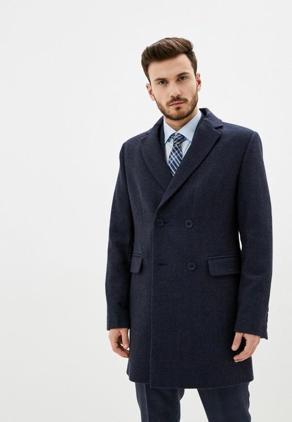 Bazioni | синий Мужское синее пальто Bazioni | Clouty
