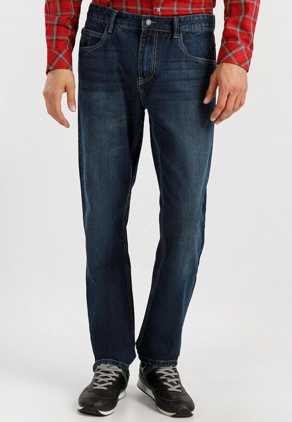 Finn Flare | синий Мужские синие джинсы Finn Flare | Clouty