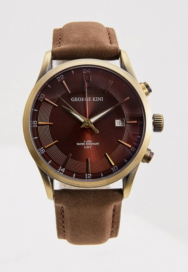 George Kini   коричневый Часы George Kini   Clouty