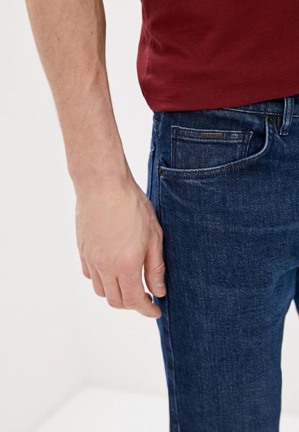 BOSS | синий Мужские синие джинсы BOSS | Clouty