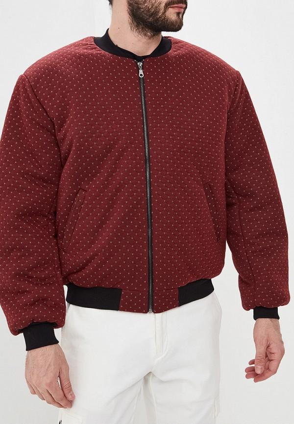 Eniland   бордовый Мужская бордовая утепленная куртка Eniland   Clouty