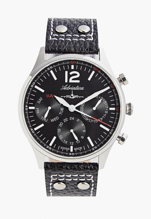 Adriatica | черный Мужские черные часы Adriatica | Clouty