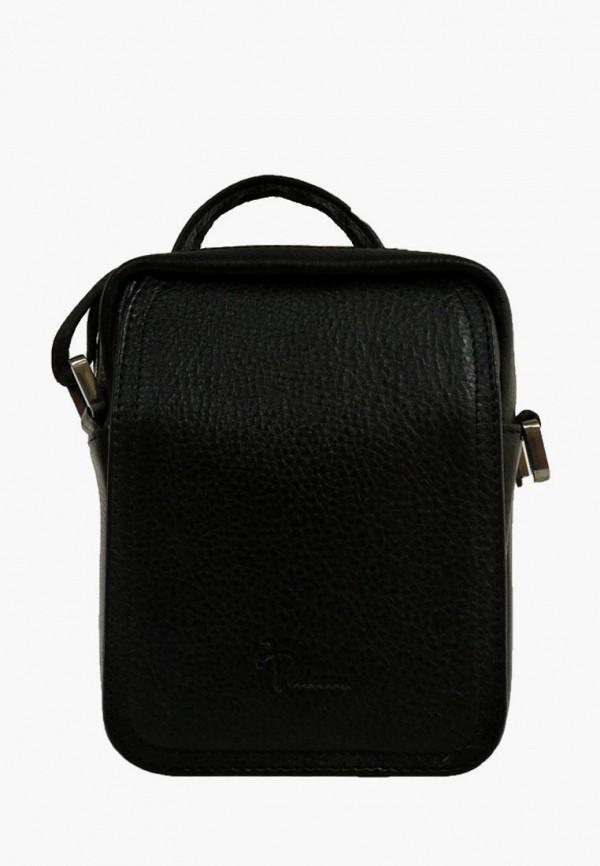 Pellecon | черный Мужская черная сумка Pellecon | Clouty