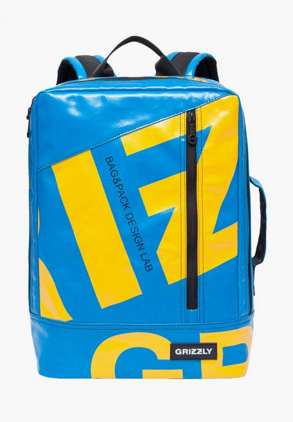 Grizzly | Мужской голубой рюкзак Grizzly | Clouty