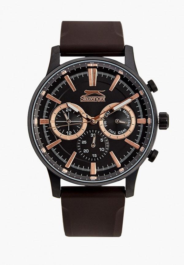 Slazenger   коричневый Часы Slazenger   Clouty