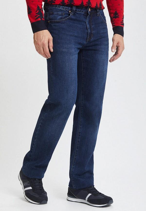 Mossmore | синий Мужские синие джинсы Mossmore | Clouty