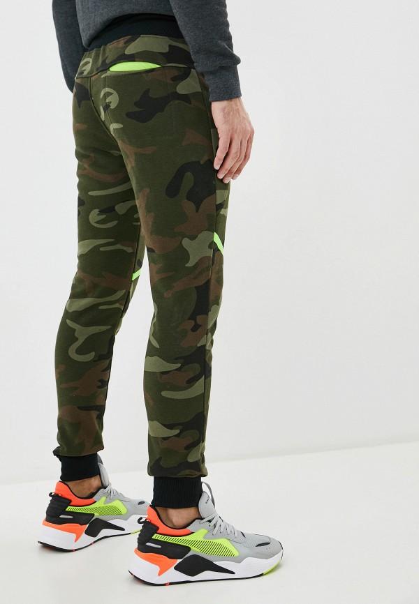 Ombre | хаки Мужские спортивные брюки Ombre | Clouty