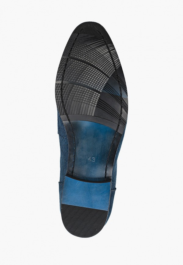 Basconi | синий Мужские синие лоферы Basconi термополиуретан | Clouty