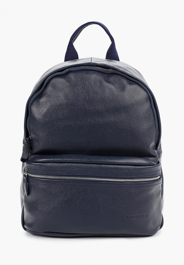 Franchesco Mariscotti | Мужской синий рюкзак Franchesco Mariscotti | Clouty
