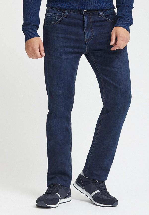 Mossmore   синий Мужские зимние синие джинсы Mossmore   Clouty