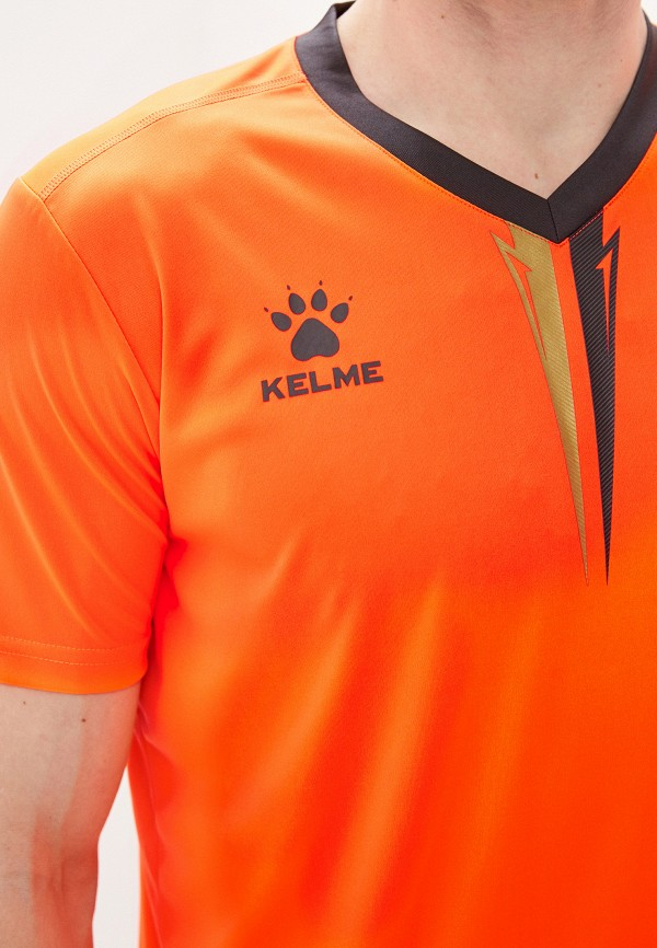 Kelme | оранжевый, серый Мужской костюм спортивный Kelme | Clouty