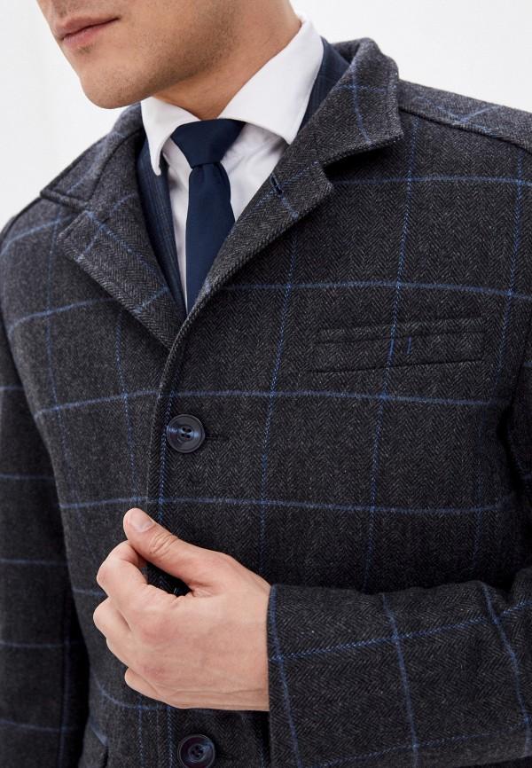 Bazioni | серый Мужское серое пальто Bazioni | Clouty