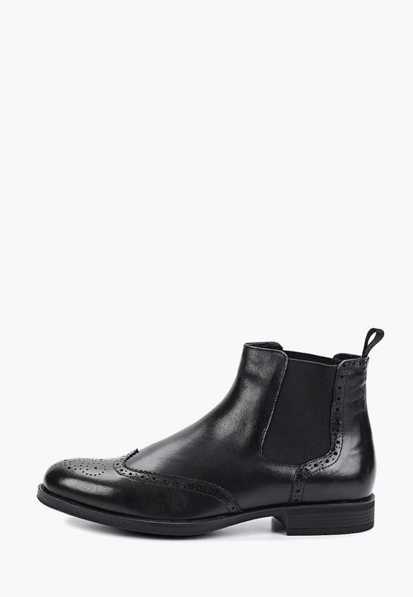 Vitacci | черный Мужские черные ботинки Vitacci резина | Clouty