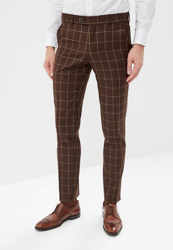 Bazioni | коричневый Мужские коричневые брюки Bazioni | Clouty