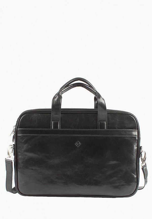 Edmins | черный Мужская черная сумка Edmins | Clouty