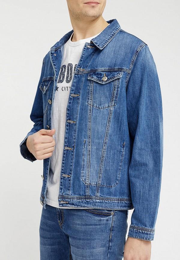 Mossmore | синий Куртка джинсовая Mossmore | Clouty