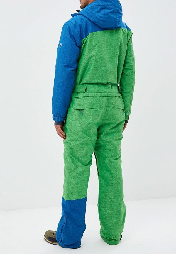 Snow Headquarter   Мужской зимний зеленый комбинезон горнолыжный Snow Headquarter   Clouty