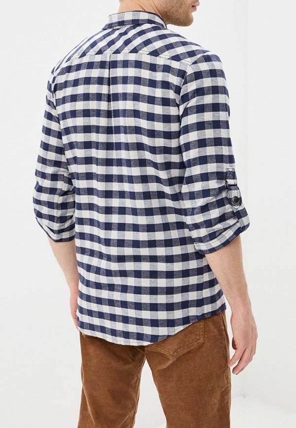 Ducky Style | синий Мужская синяя рубашка Ducky Style | Clouty