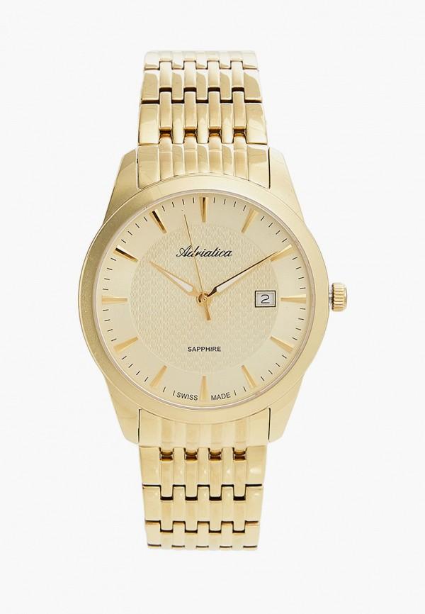 Adriatica | золотой Мужские золотые часы Adriatica | Clouty