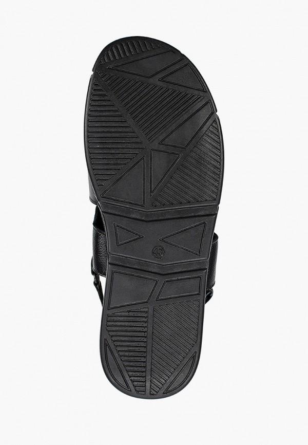 Alessio Nesca | черный Мужские летние черные сандалии Alessio Nesca полиуретан | Clouty